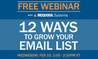 You're Invited to an Intimate Online About A/B Testing for Email List Growth