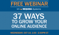 You're Invited to an Intimate Online Discussion Regarding Your Audience