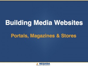 Building Media Websites
