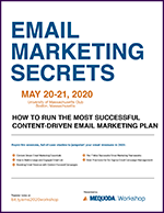 Program Guide: Email Marketing Secrets: 2020 Workshop