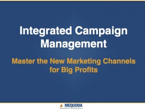 Integrated Campaign Management