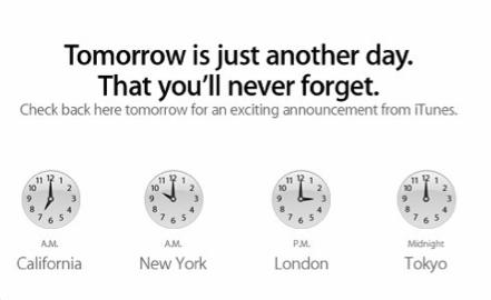 iTunes Homepage Monday, November 15, 2010