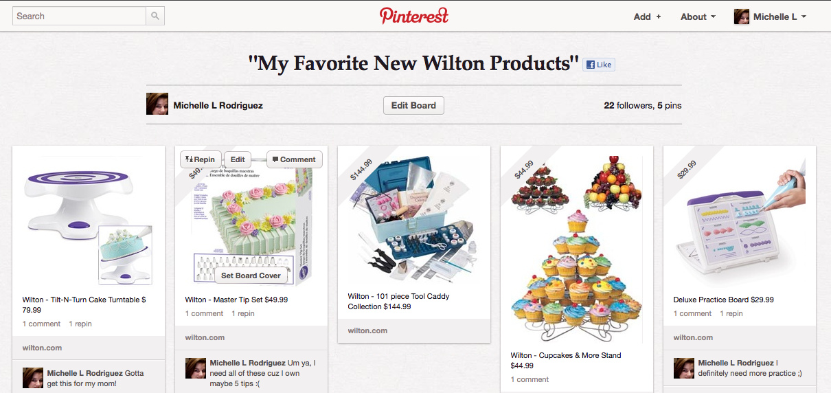 My Favorite New Wilton Products board on Pinterest