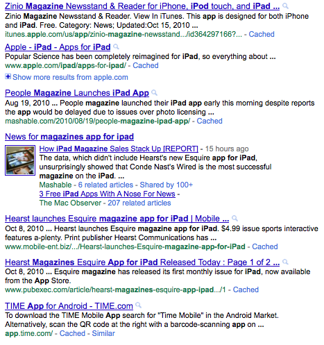 """Google Search Results for """"magazine apps for iPad"""""""