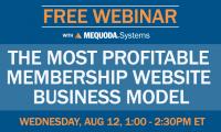 Free Webinar: The Most Profitable Membership Website Business Model