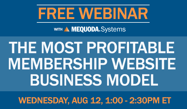 Free Webinar: The Most Profitable Membership Website Business Model