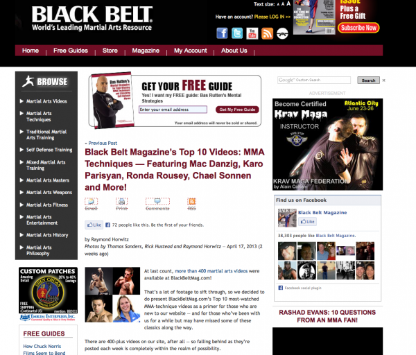 ideas for blog posts blackbelt