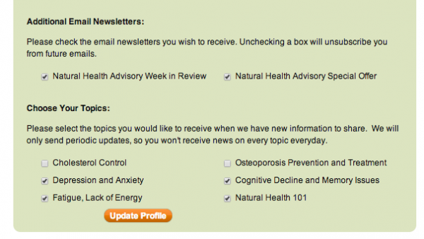 weekly email newsletter template from nhai