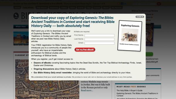 Biblical Website Floater