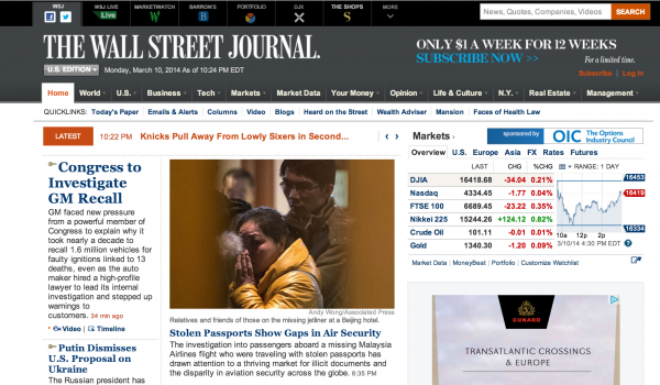 Wall St. Journal