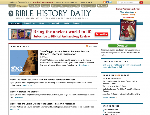 bible history daily
