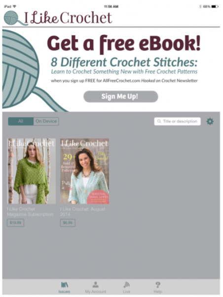 i like crochet ebook