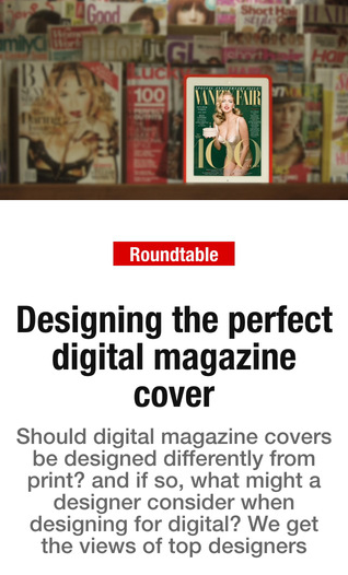 digital magazine covers