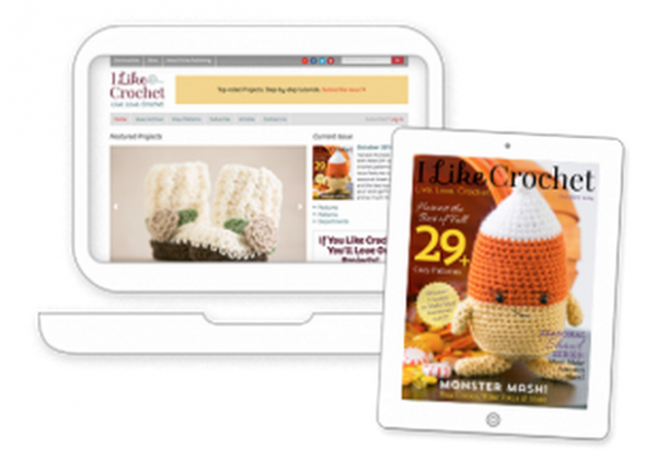 i like crochet digital magazine example