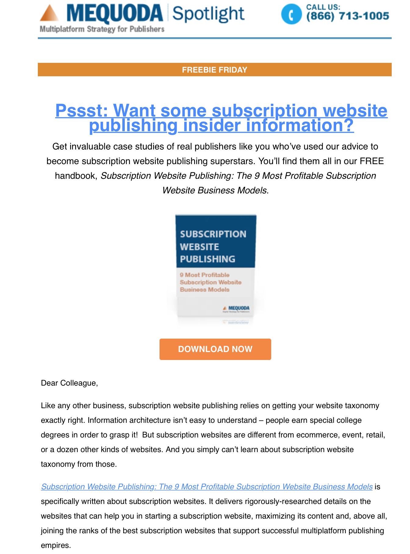 How to Promote a Magazine Through Email Spotlights