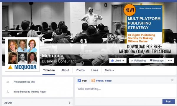 Community website business model - Facebook