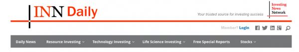 INN lead generation website business model nav bar