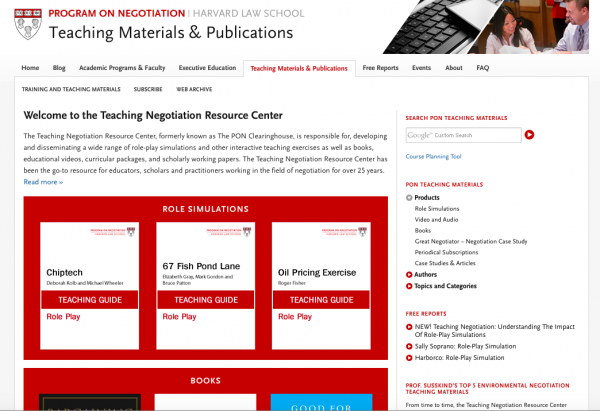 website business model PON retail home page