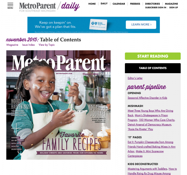 metro parent magazine subscription website