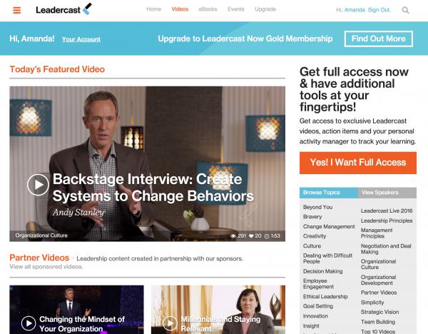 leadercast now