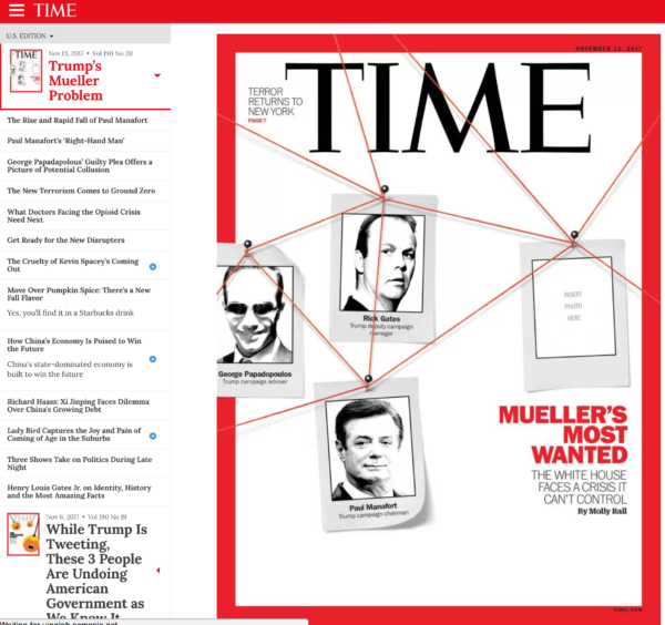 time web magazine