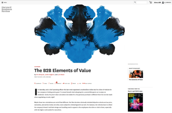 harvard business review paywall