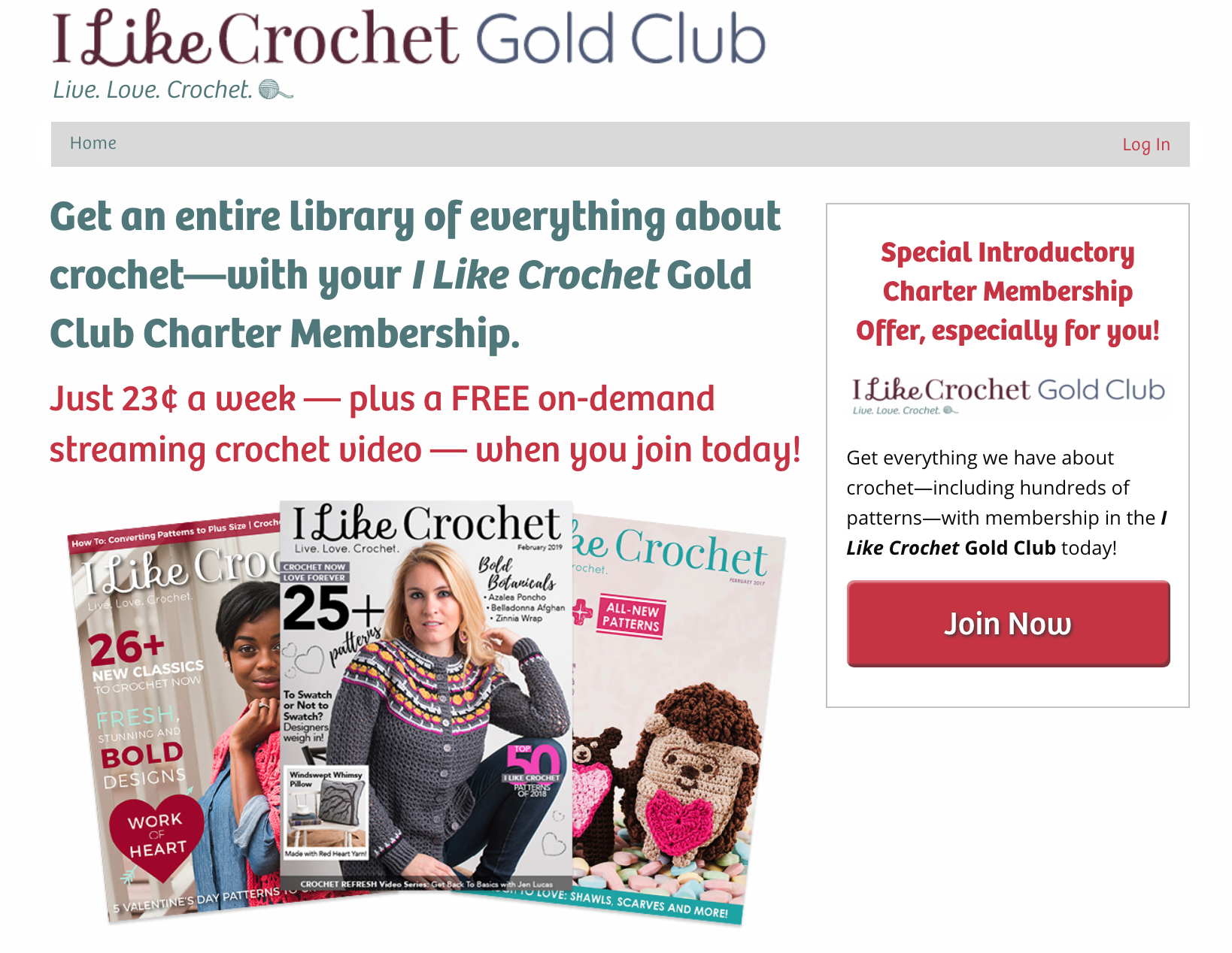 Digital Milestone: I Like Crochet Hits 15,000 Members