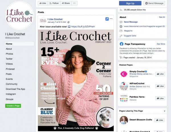 I Like Crochet Digital Magazine Marketing