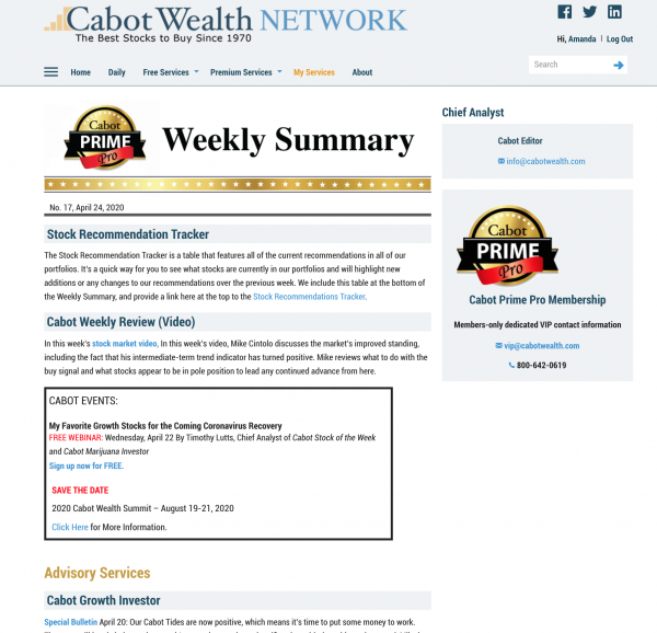 cabot wealth Niche Publishers See 46% Increase in Digital Subscription Sales During Pandemic