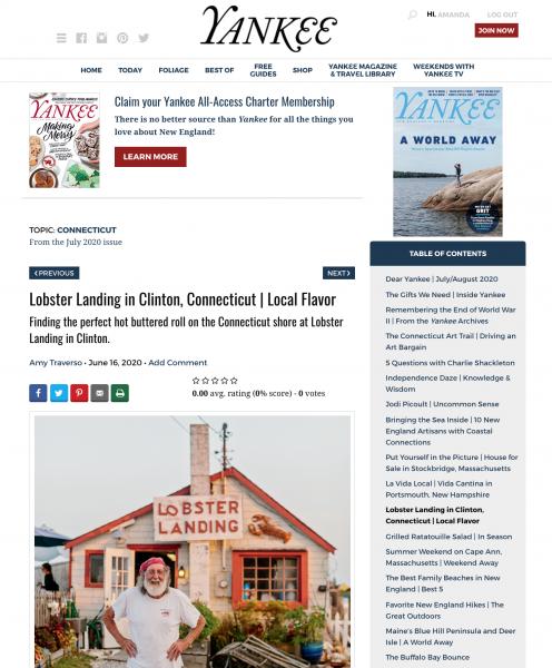 best digital magazine examples yankee