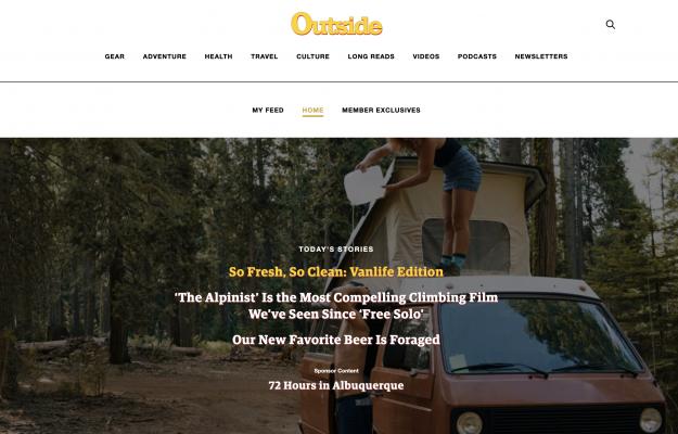 subscription website