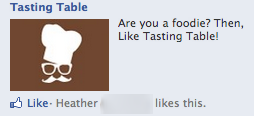 tasting table on facebook