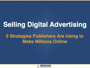 Selling Digital Ads