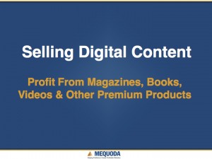 Selling Digital Content