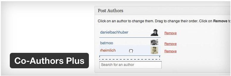 Co-Authors Plus WordPress Plugins