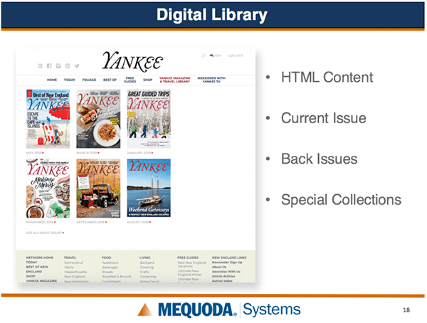 Yankee Digital Library slide