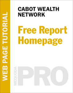 Cabot Free Report Homepage
