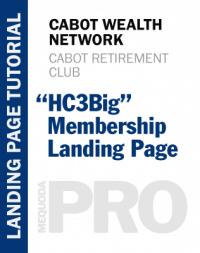 """In-Depth Tutorial: """"HC3Big"""" Membership Landing Page"""