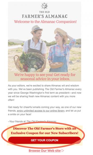 email copywriting cta