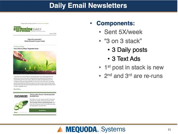 Daily Email Newsletters