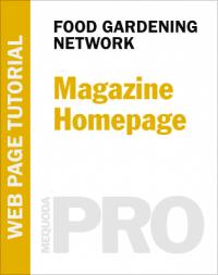 In-Depth Tutorial: Magazine Homepage