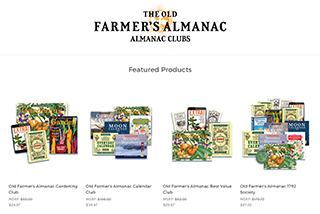 The Old Farmer's Almanac Club