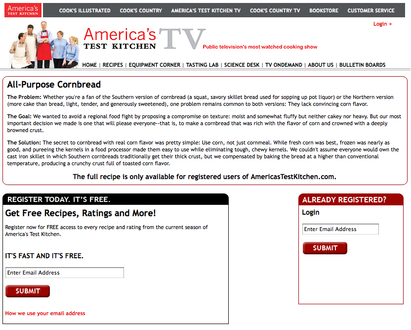America S Test Kitchen Website All Monthly