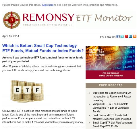 remonsy email newsletter