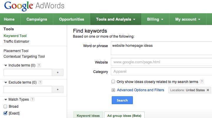 seo keyword strategy website homepage ideas example mequoda daily