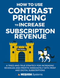 How to Use Contrast Pricing to Increase Subscription Revenue