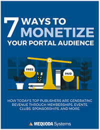 7 Ways to Monetize your Portal Audience