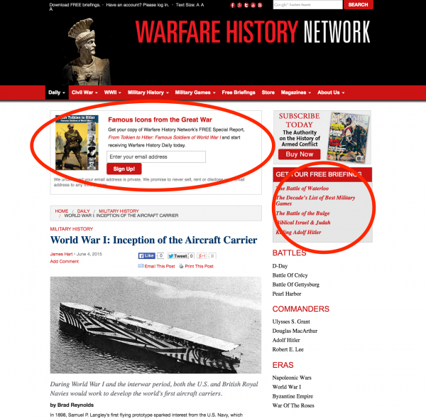 warfare-best-website-design