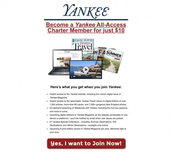 Yankee Charter Offer