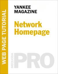 In-Depth Tutorial: Network Homepage